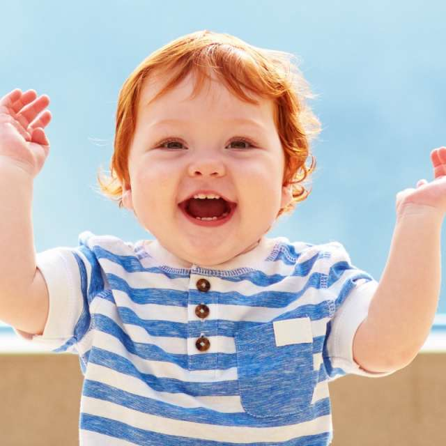 Is there anything more infectious than a toddler laughing?