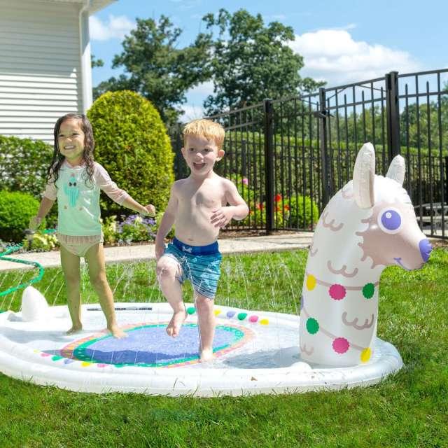 Splashy Sprinklers
