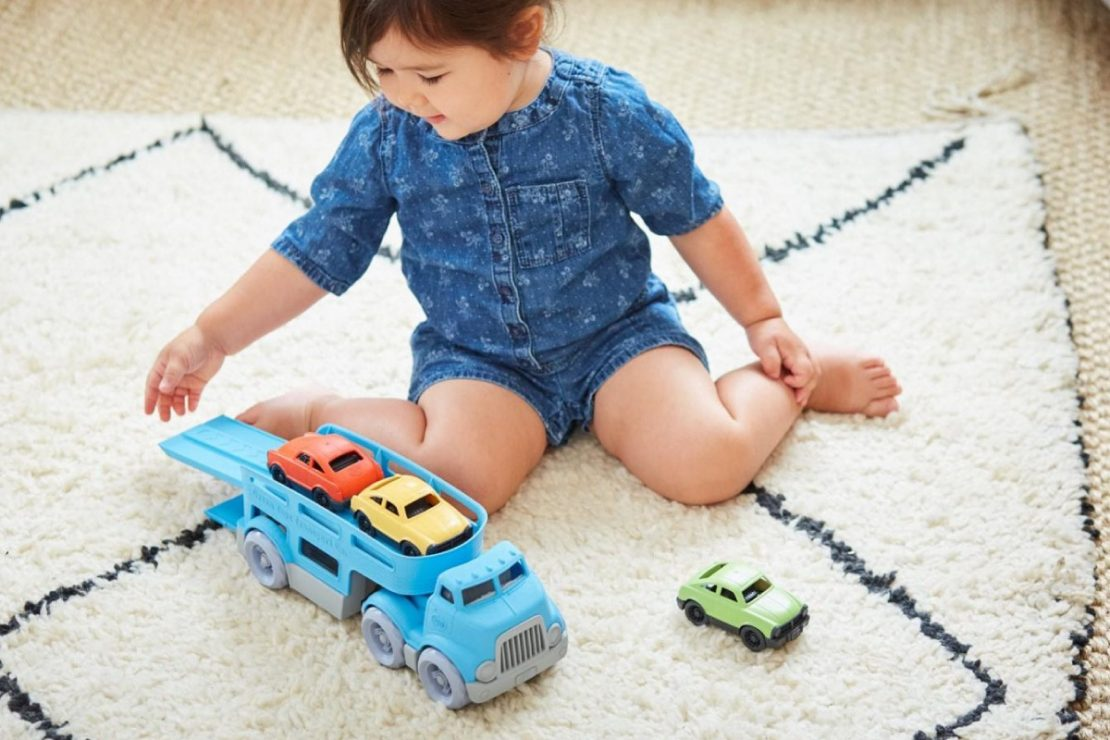 Green Toys Car Carrier Play Set