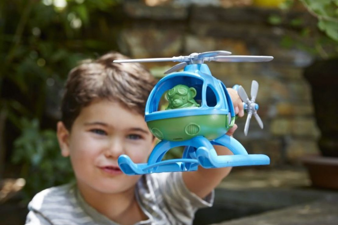 Green Toys Helicopter Play Set