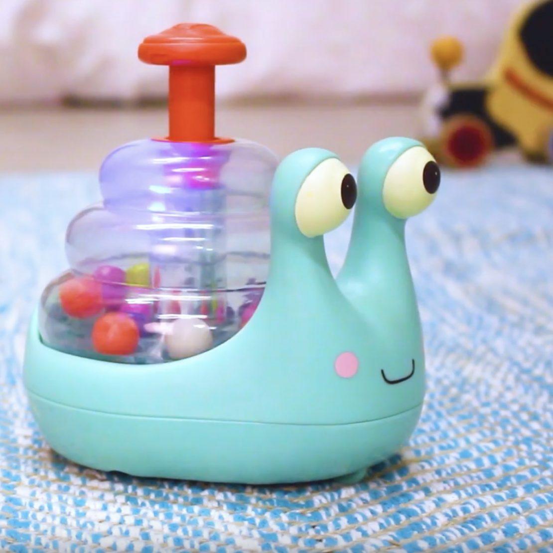 Battat Baby Escar Glooooooow Snail