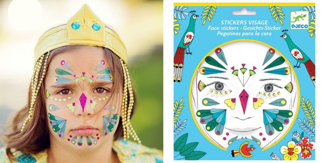 Djeco Face Stickers - Bird