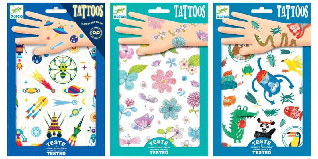 Djeco Temporary Tattoos