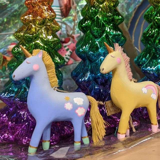 Unicorn Holiday Ornaments
