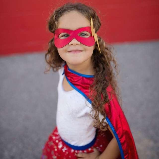 Super Hero Tutu with Cape & Mask