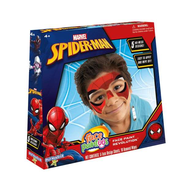 Face Paintoos Spider-Man