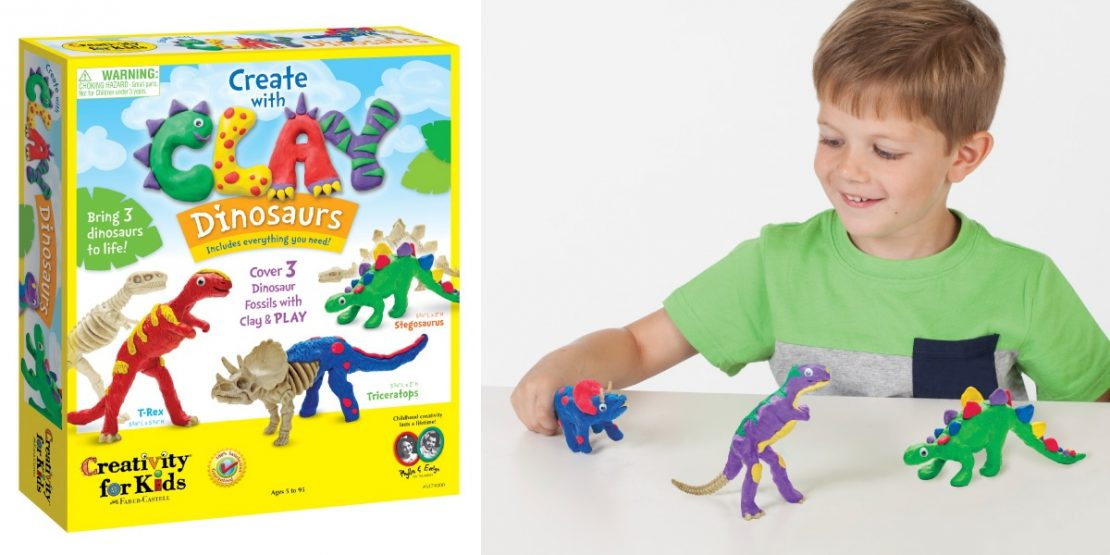 Create With Clay Dinosaurs from Creativity for Kids