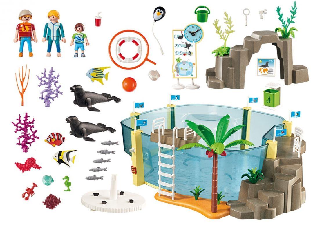 Playmobil Aquarium Play Set Contents
