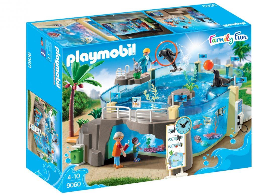 Playmobil Aquarium Play Set Box