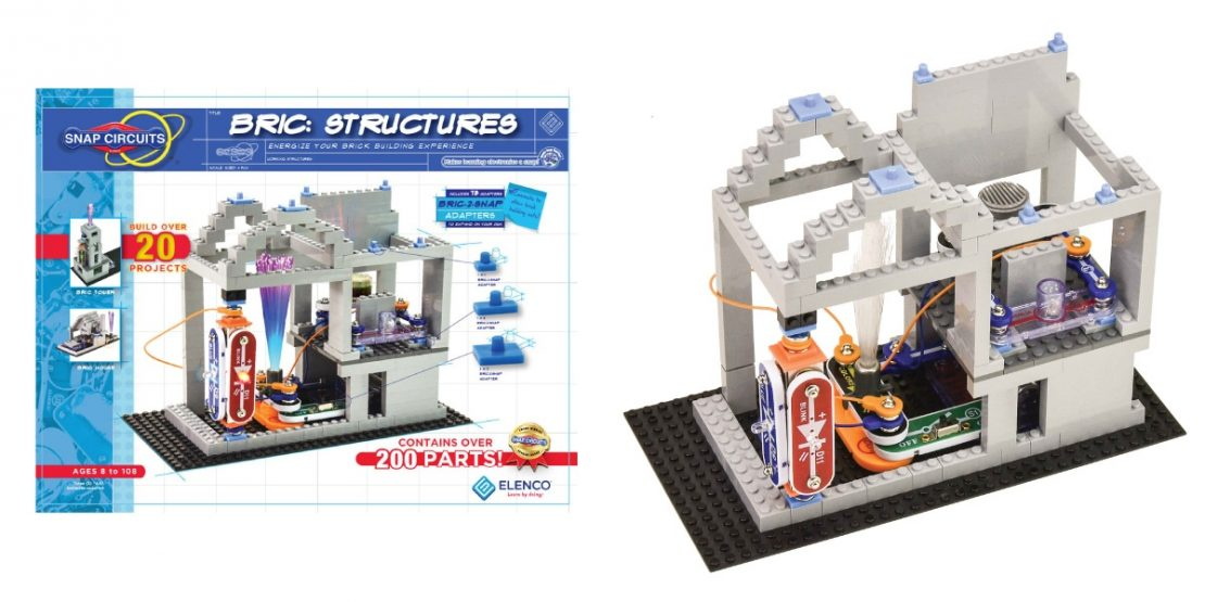 Snap Circuits Bric: Structures from Elenco