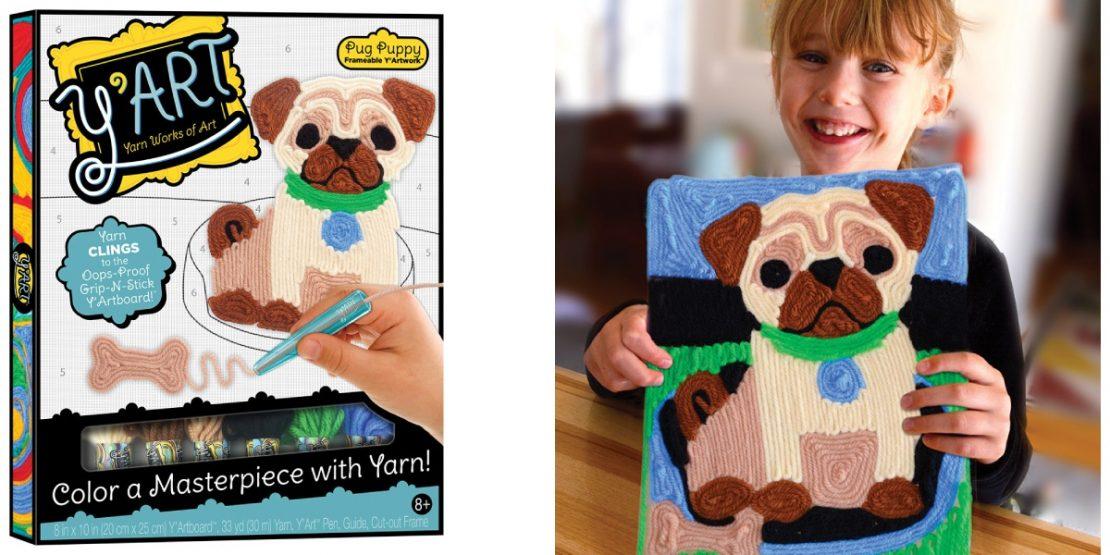 Y'Art Craft Kit - Pug Puppy from Kahootz Toys