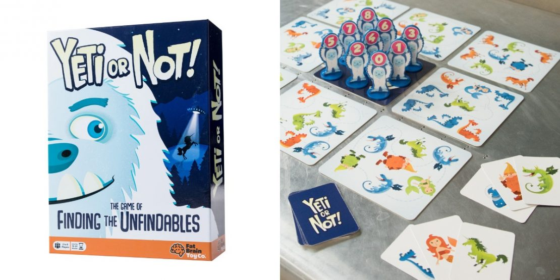 Yeti or Not!  From Fat Brain Toy Co