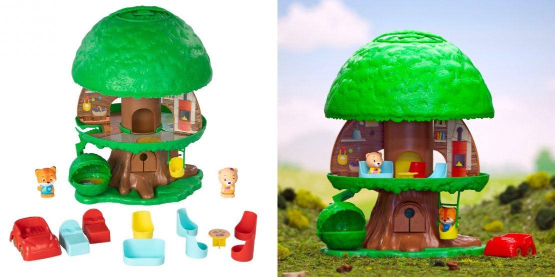Timber Tots Tree House from Fat Brain Toy Co