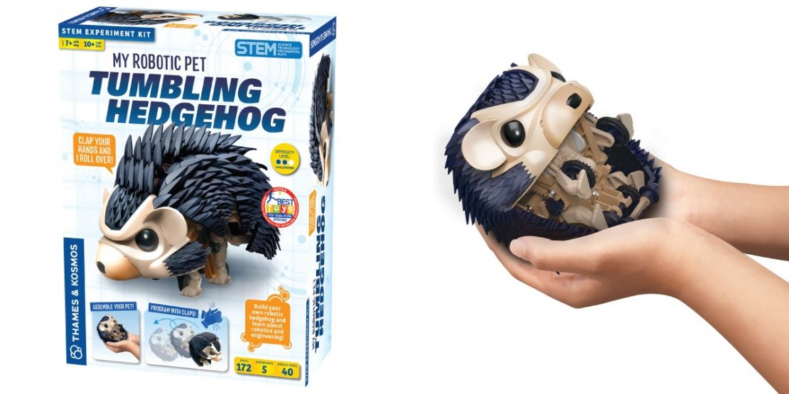 My Robotic Pet - Tumbling Hedgehog from Thames & Kosmos