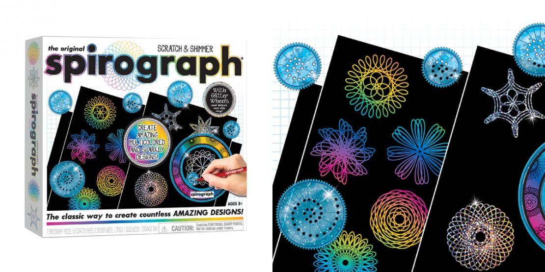 Spirograph Scratch & Shimmer Set from Playmonster