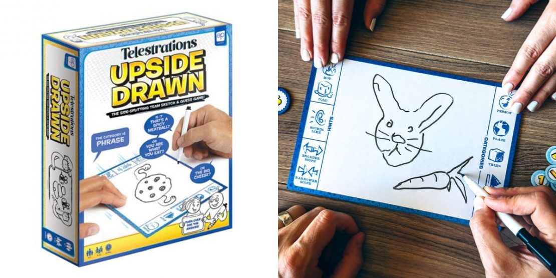 Telestrations: Upside Drawn from USAOpoly