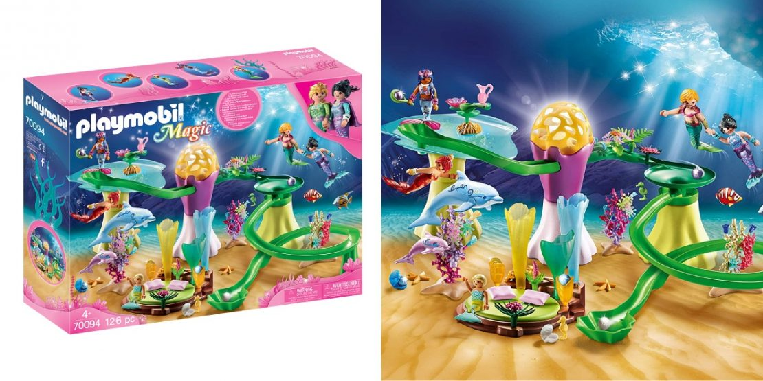 Mermaid Cove with Illuminated Dome from Playmobil