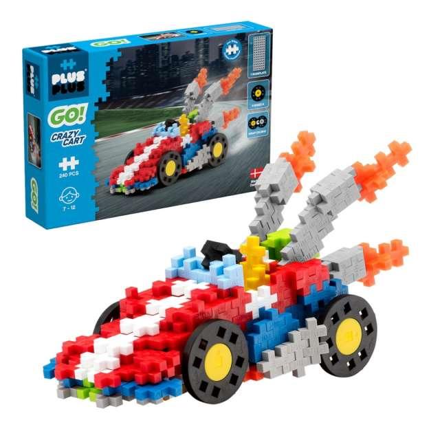 Plus-Plus Go Crazy Cart