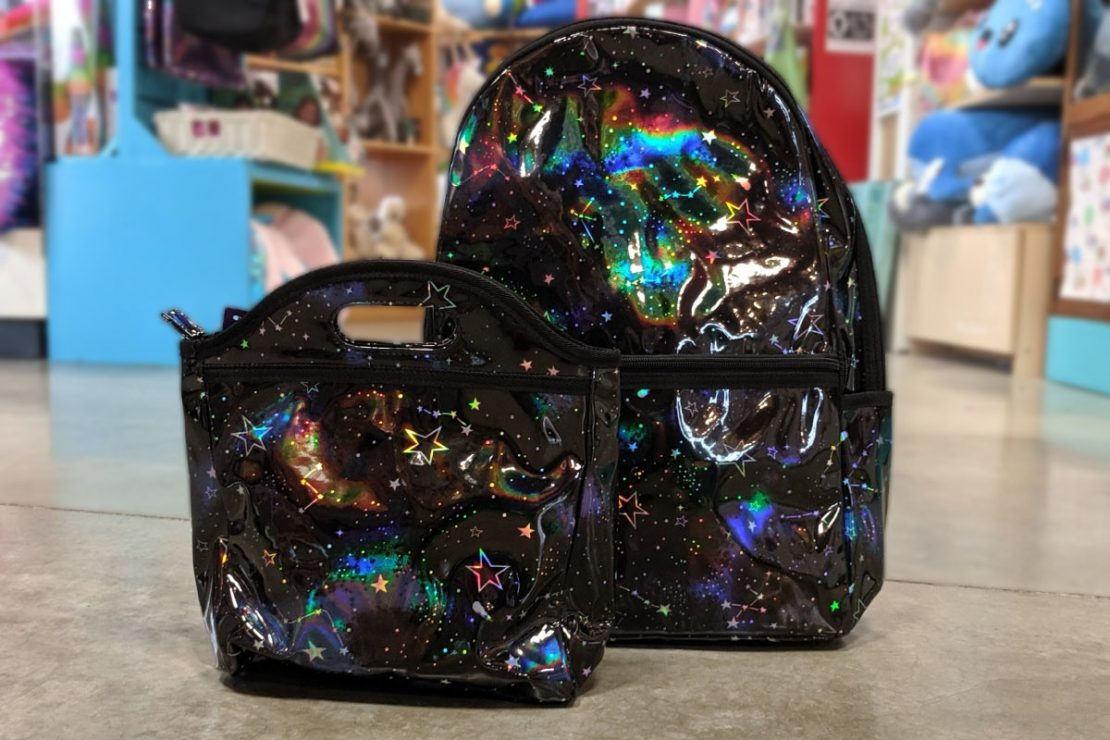 iScream Holographic Backpack & Lunch Bag