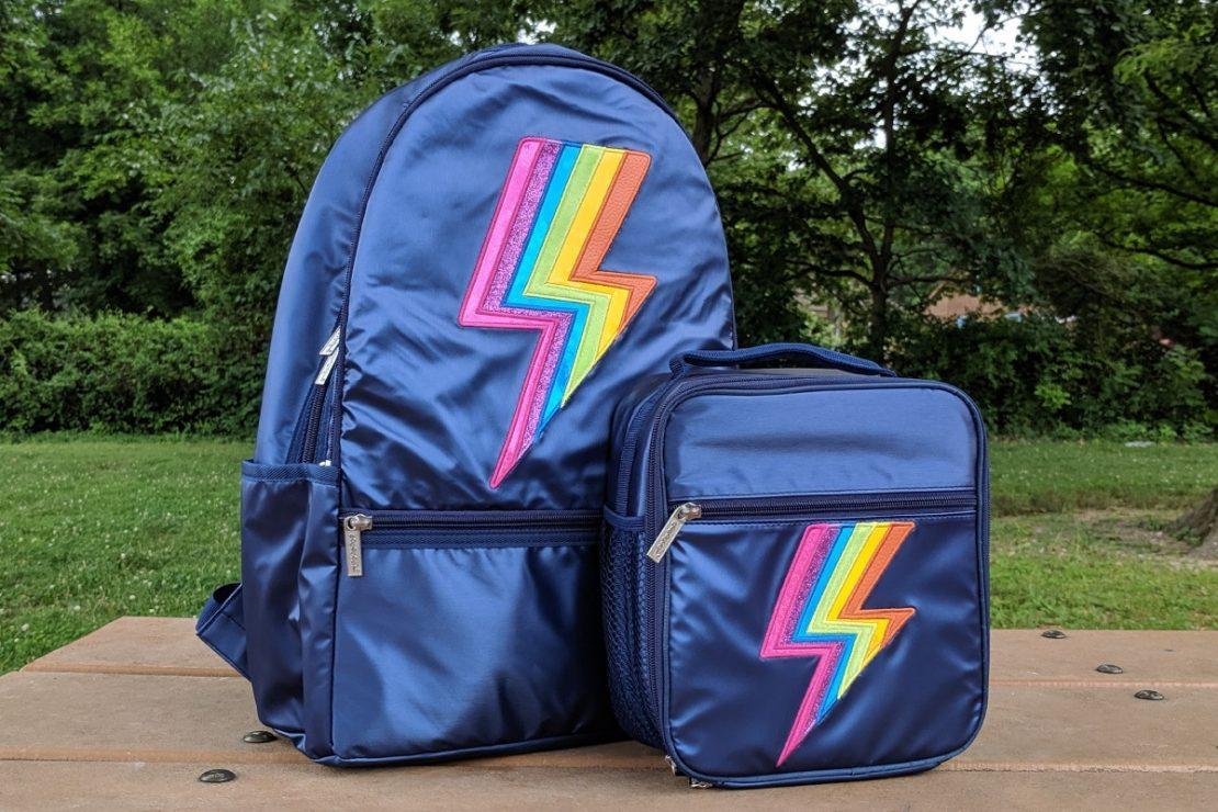 iScream Metallic Lightnig Backpack & Lunch Box