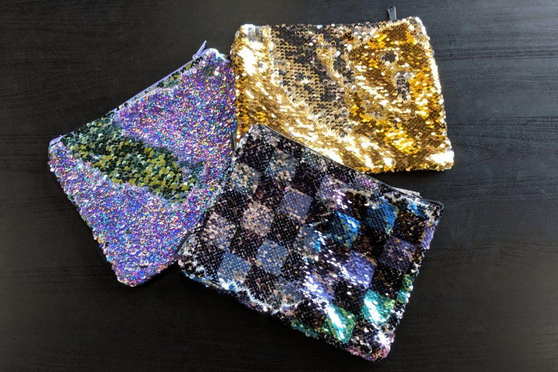 Magic Sequin pouches
