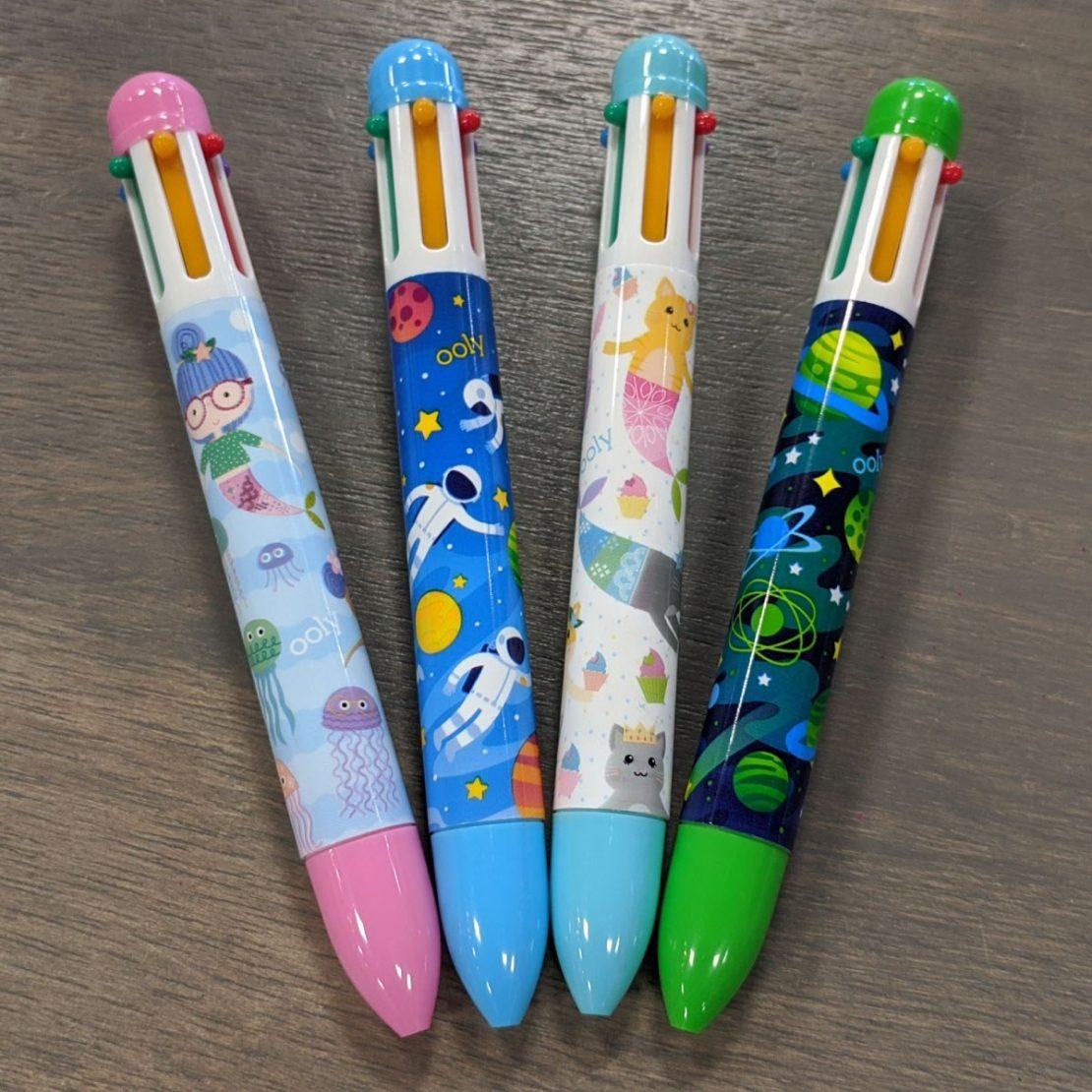 6-Click Ballpoint Pens