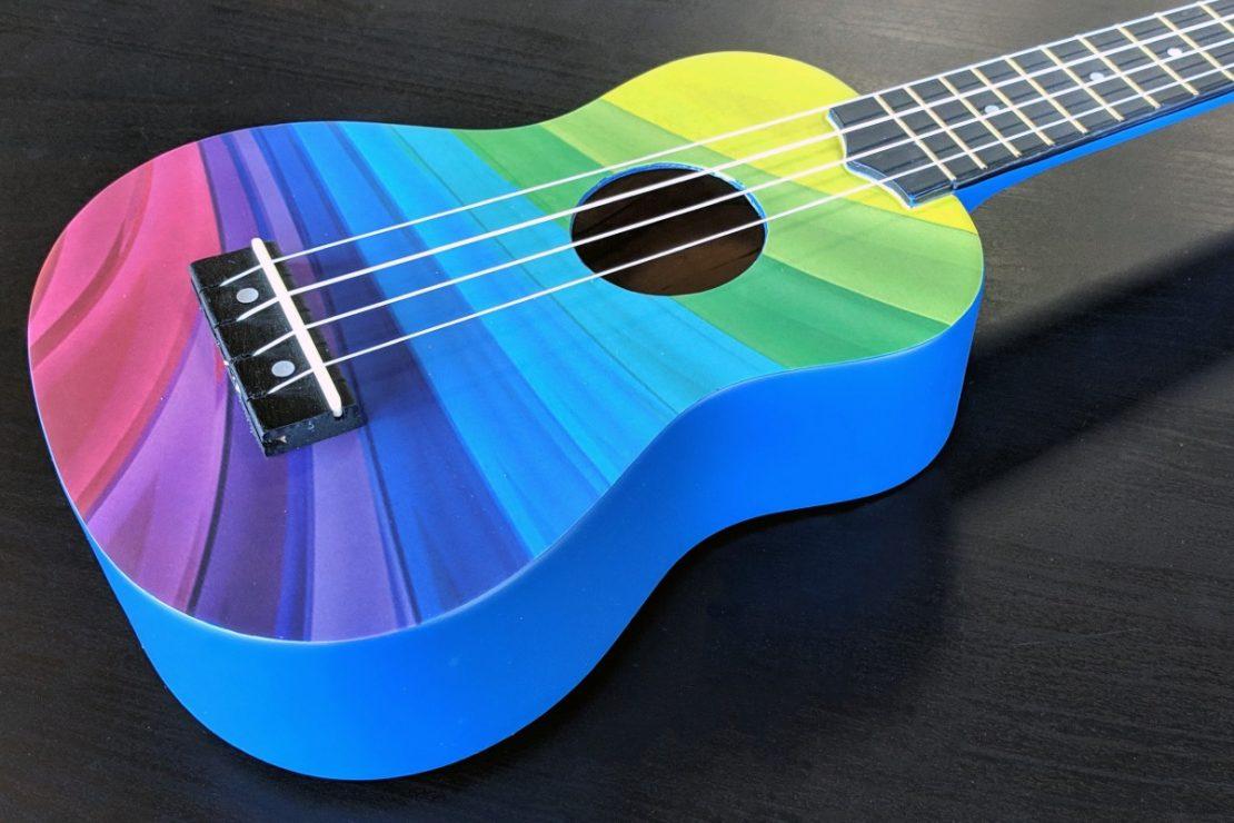 Amahi Rainbow Ukulele