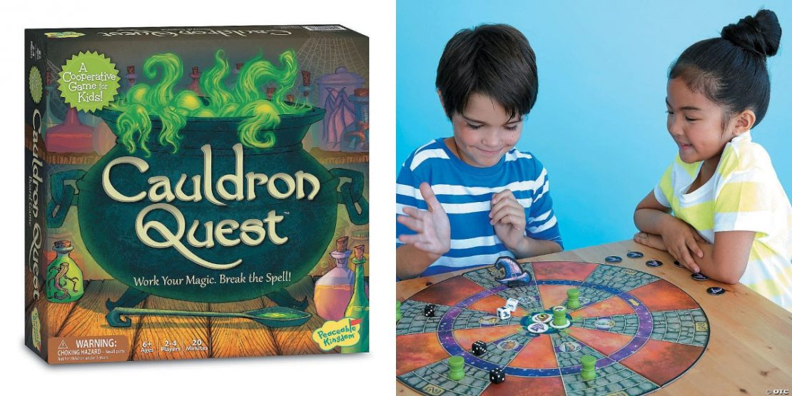 Cauldron Quest Cooperative Game from Peaceable Kingdom