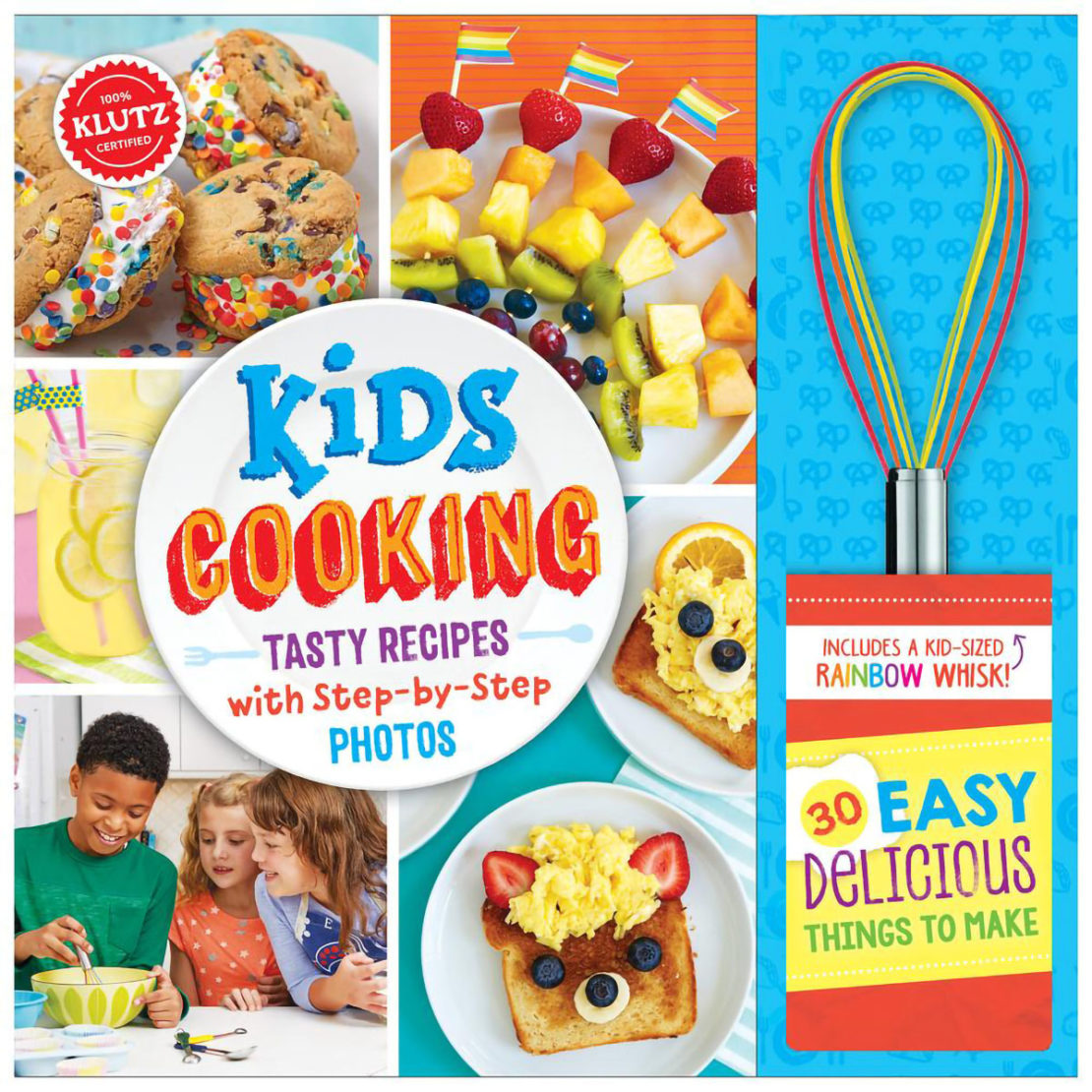Kids Cooking Book with Whisk