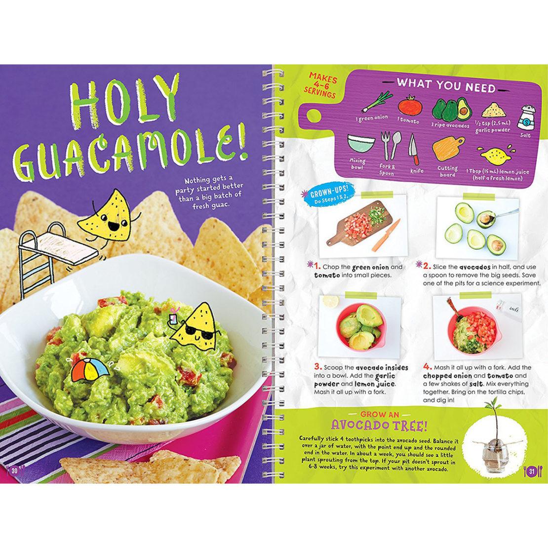 Klutz Kids Cooking Guacamole Recipe