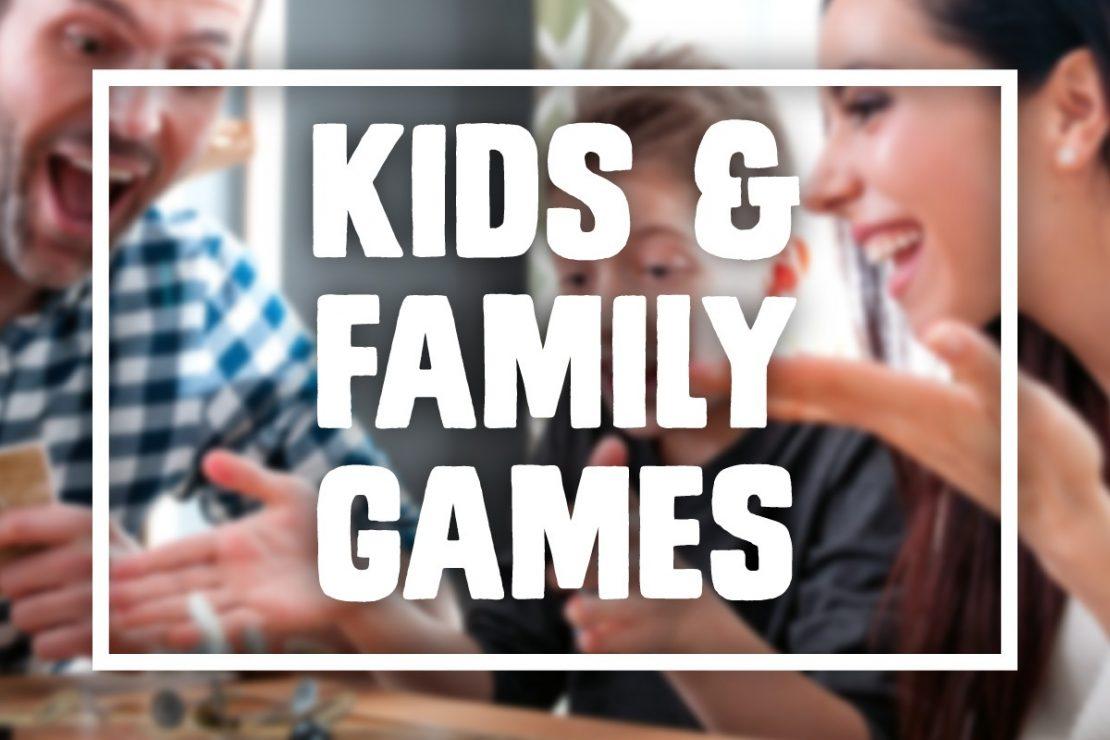 Kids & Family Games - Summer 2019