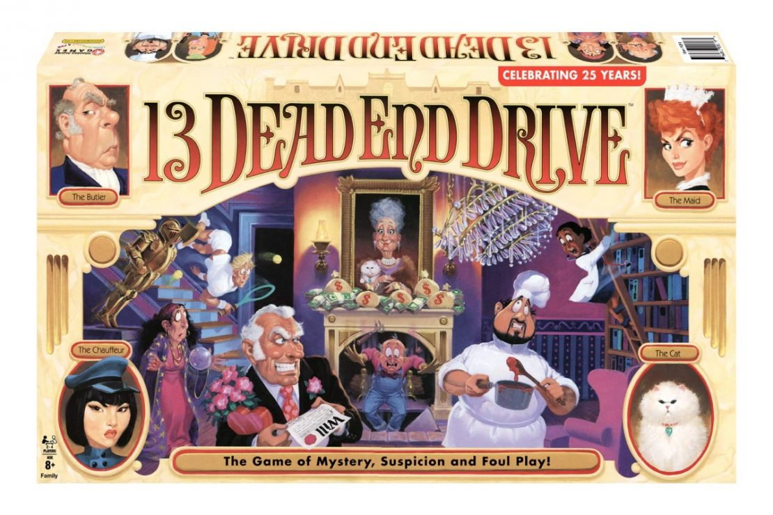 13 Dead End Drive reissued by Winning Moves