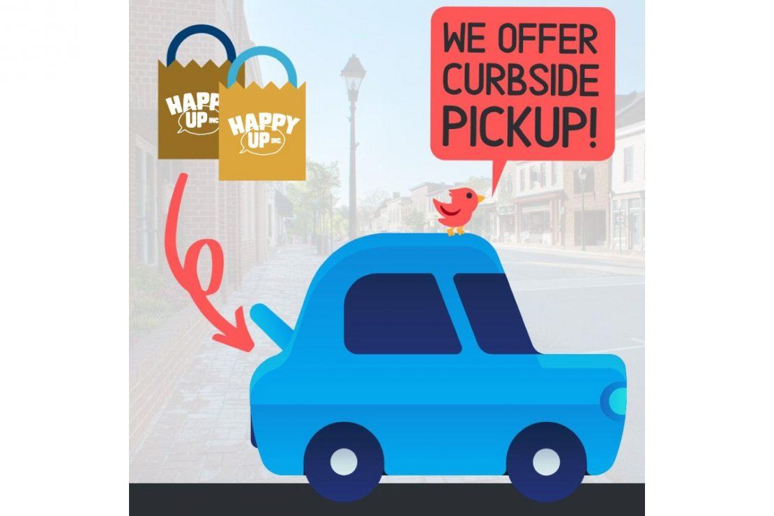 We Offer Curbside Pickup!