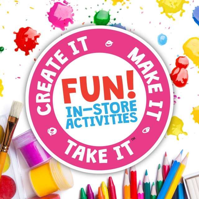 Create It Make It Take It Summer Craft Events 2019