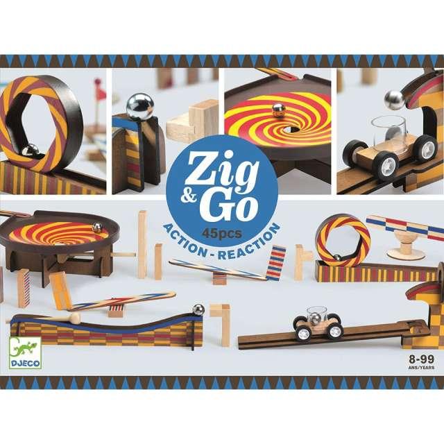 Zig & Go 45 Action Reaction