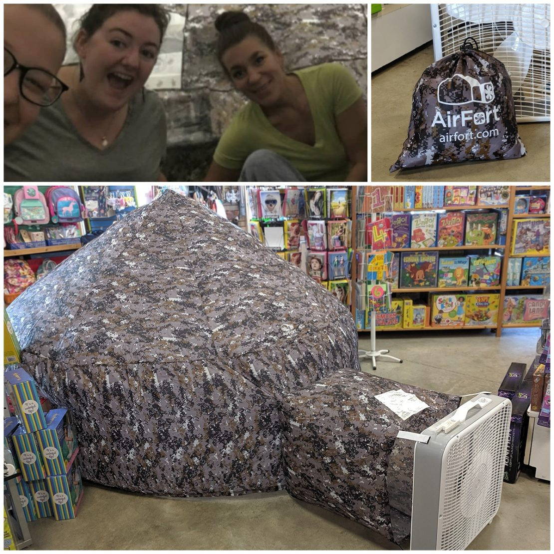 Air Forts, Julie's Pick