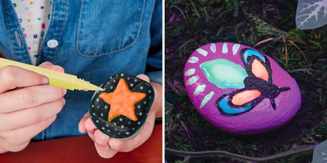 Hide & Seek Rock Kits Glow in the Dark