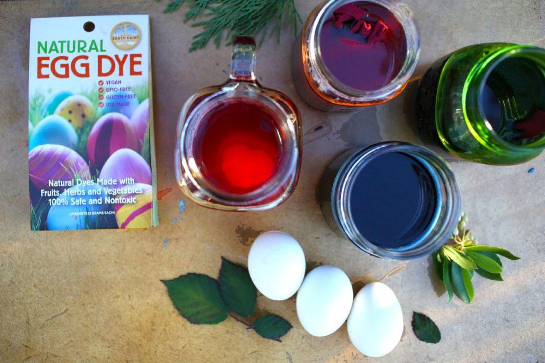 Natural Earth Egg Dye