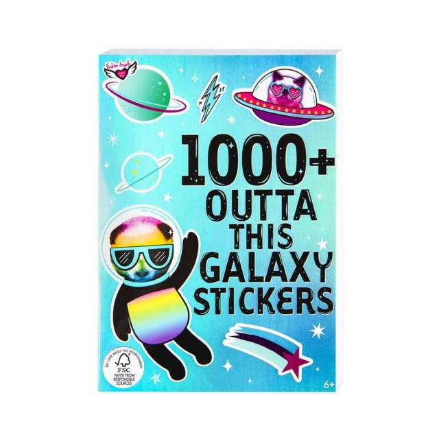 Outta This Galaxy Stickers