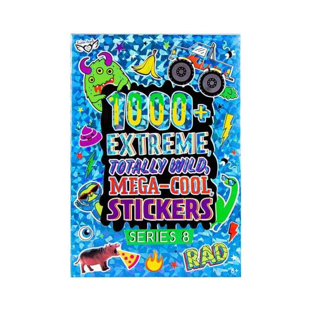 Extreme Totally Wild Mega Cool Sticker Books
