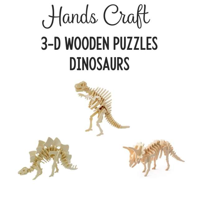 Dinosaurs 3-D Puzzles