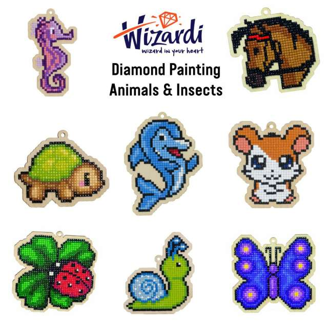 Animals & Insects Diamond Painting Kits
