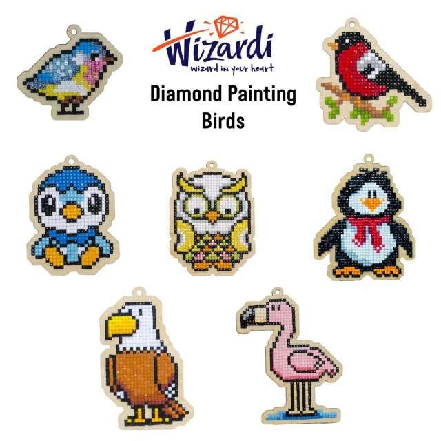 Birds Diamond Painting Kits