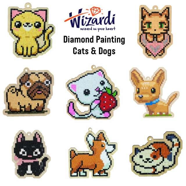 Cats & Dogs Diamond Painting Kits