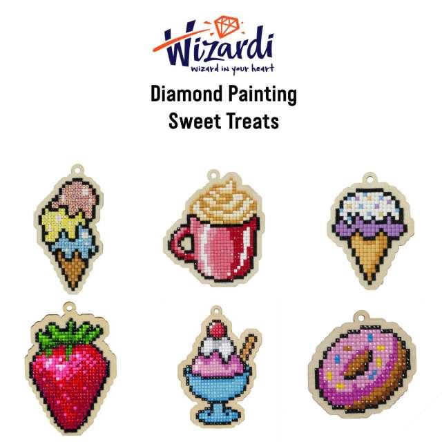 Sweet Treats Diamond Painting Kits