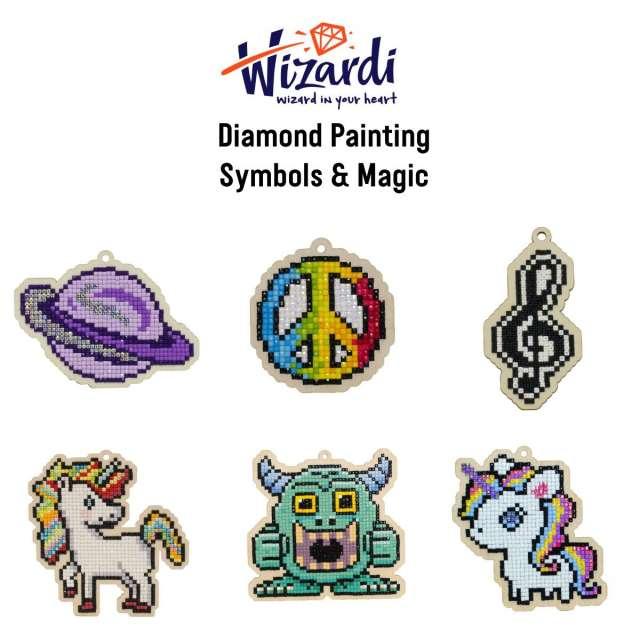 Symbols & Magic Diamond Painting Kits