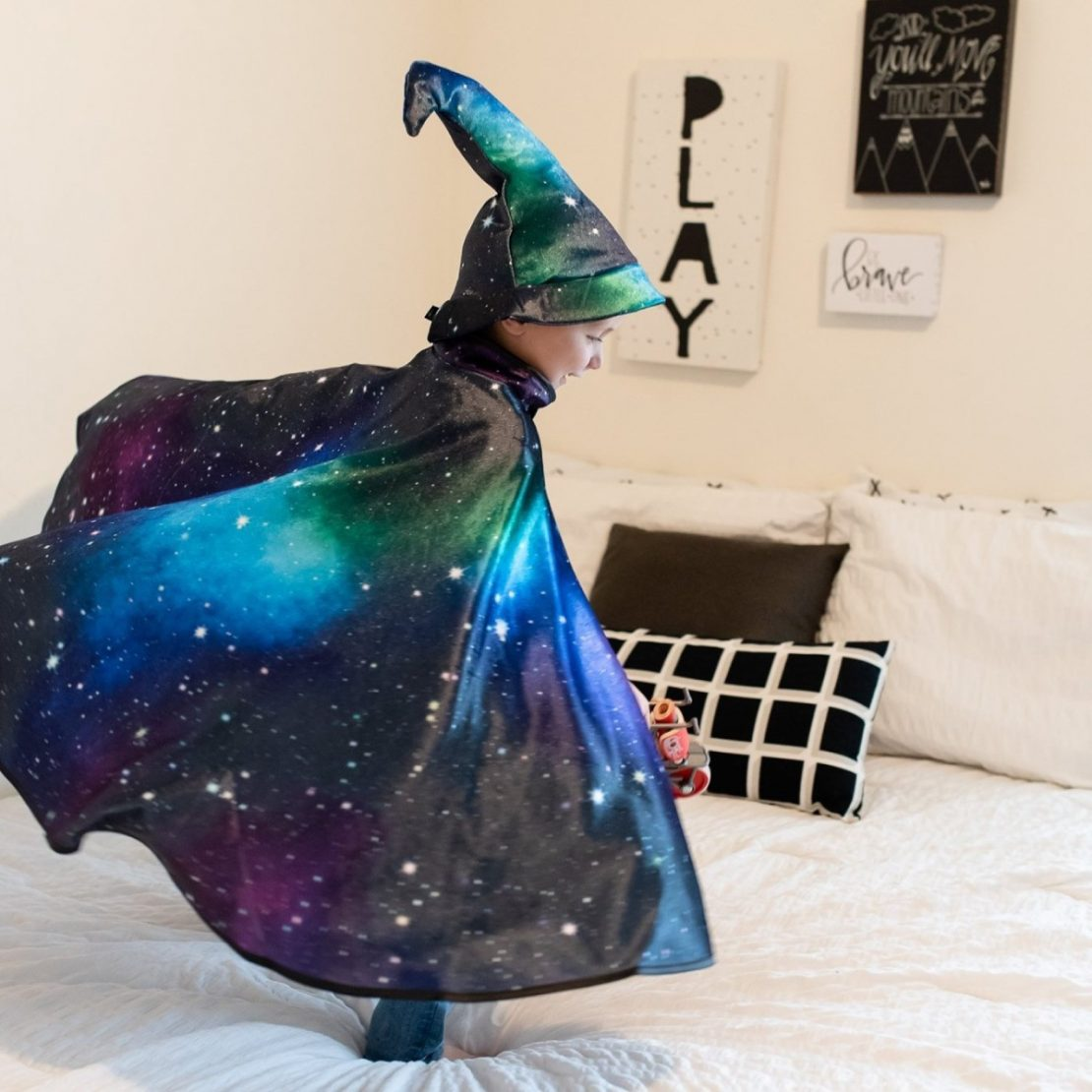 Little Adventures Galaxy Cape and Galaxy Hat