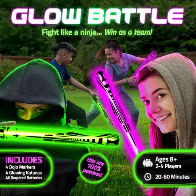 Starlux Glow Battle Ninja Game