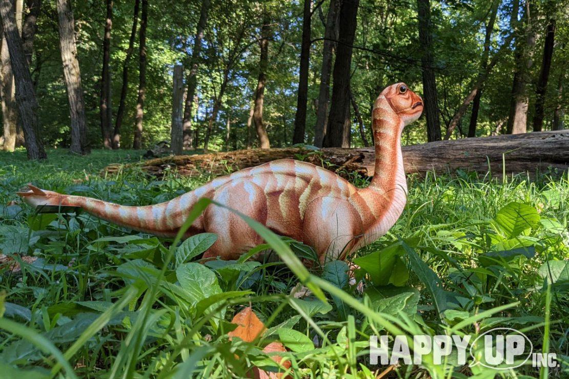 Real Planet Dinosaur Plush Shunosaurus