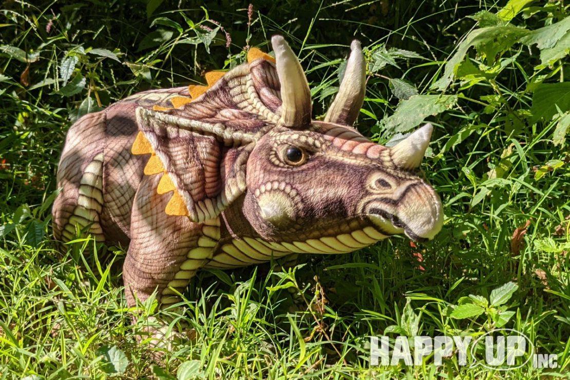 Real Planet Dinosaur Plush Triceratops